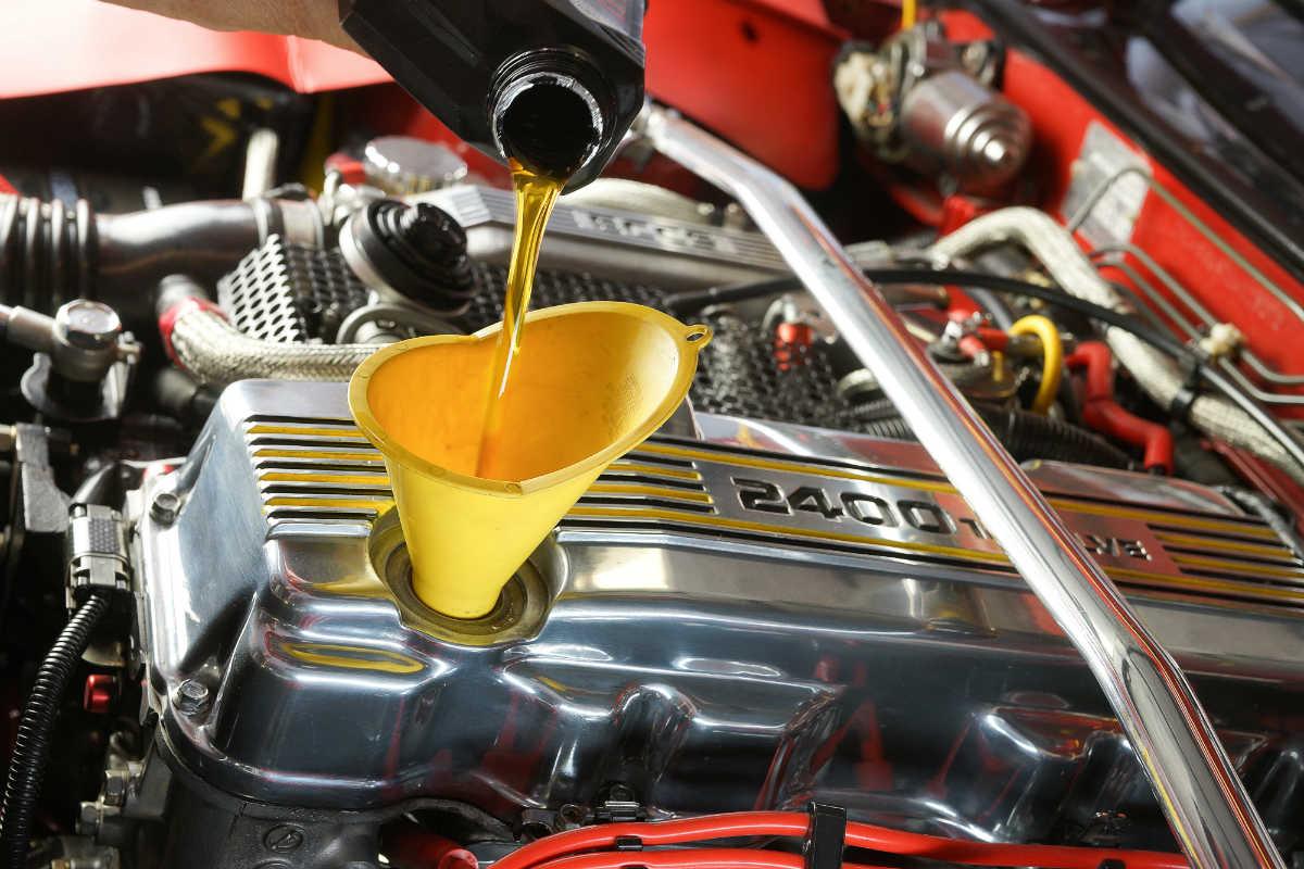 Changement d'huile et maintenance
